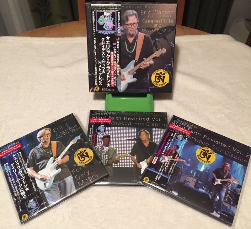 "Soundboard! Eric Clapton ""Greatest Hits And Best Of"